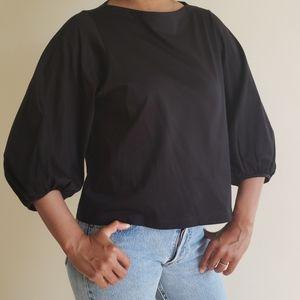 Uniqlo Puff Sleeve Top